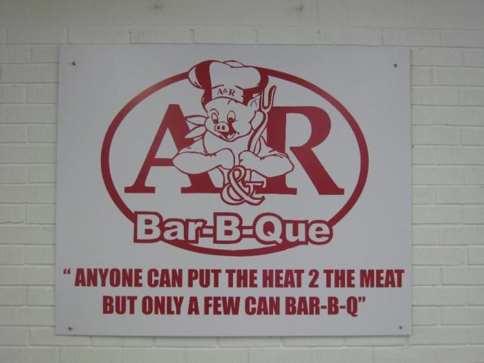 13) A&R Bar-B-Que
